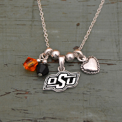 OKLAHOMA STATE COWBOYS HAUTE WIRE NECKLACE #OKS22661