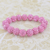 PINK BLING IT ON STRETCH BRACELET #57403