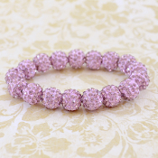 LAVENDER BLING IT ON STRETCH BRACELET #57390
