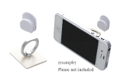 SQUARE CELL PHONE RING HOOK #XRI0002-SWH