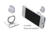 SQUARE CELL PHONE RING HOOK #XRI0002-SSIL