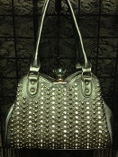 DIAMOND CLASP BLING HANDBAG #F180E-PT