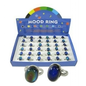 OVAL ADJUSTABLE MOOD RINGS #MR2186