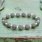 GRAY MY BLING STRETCH BRACELET #57514