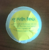 MY MELON BATH BOMB #2MMBB