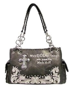 SCRIPTURE CONCEALED CARRY HANDBAG #PRY893-PT