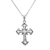 CROSS NECKLACE #13184CR-S