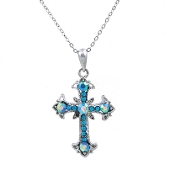 CROSS NECKLACE #13184AQ-S