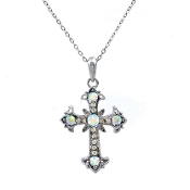 CROSS NECKLACE #13184AB-S