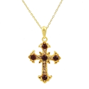 CROSS NECKLACE #13184TO-G