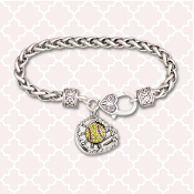 CLASP BRACELET - SOFTBALL GLOVE #55113