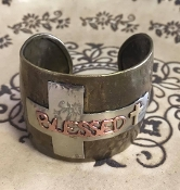 BLESSED CUFF BOHEMIAN BANGLE #AB8740-BB