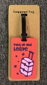 LUGGAGE TAG #PACKUP
