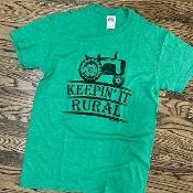 KEEPIN' IT RURAL T-SHIRT 6 PACK #KEEPRURAL