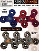 COLLEGIATE FIDGET SPINNER #COLLEGESPIN