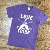 LOVE MY TRIBE T-SHIRT 6 PACK #LOVEMYTRIBE-PURPLE