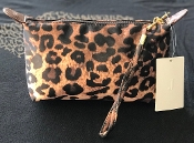 LEOPARD MAKE UP BAG #HM1006LP MID MARCH SHIPPING
