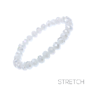 CRYSTAL STRETCH BRACELET #83317WH