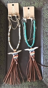SERAPE STEERHEAD NECKLACE SET $7.50