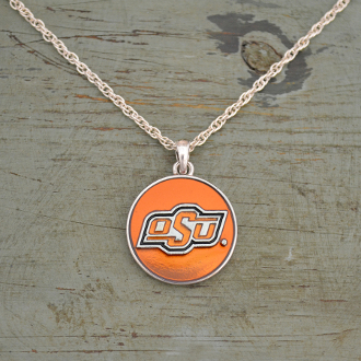 OKLAHOMA STATE COWBOYS CAMPUS CHIC NECKLACE #OKS56139