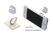 SQUARE CELL PHONE RING HOOK #XRI0002-SBE