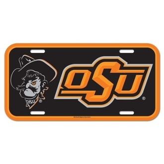 OKLAHOMA STATE COWBOYS LICENSE PLATE #92134