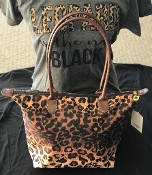 LEOPARD TOTE BAG #HD1641LP