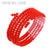 CRYSTAL MEMORY WIRE BRACELET #83379SI