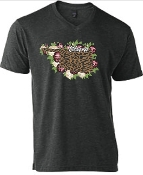 LEOPARD AND FLORAL OKLAHOMA  VNECK TSHIRT 8PK $60.00