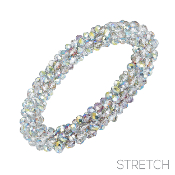 BEADED STRETCH BRACELET #82973PS