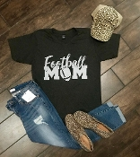FOOTBALL MOM GRAPHITE VNECK TSHIRTS 8PK $60