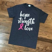 HOPE STRENGTH LOVE TSHIRTS 8PK $48