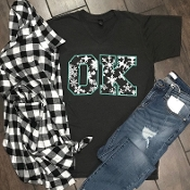 BLACK & WHITE PLAID OVERSIZED FLANNELS 6PK $75