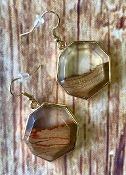 FOSSIL EARRINGS #ER174X122LB $3.50
