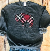 PLAID BUFFALO SWEATSHIRT 6PK $90