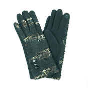 COLORFUL POPCORN SMART TOUCH GLOVES #MG0015BLACK $6.50
