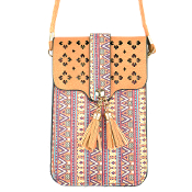 AZTEC CELLPHONE CROSSBODY BAG #MB0023BE $5.00