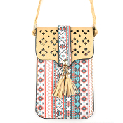 AZTEC CELLPHONE CROSSBODY BAG #MB0023IV $5.00