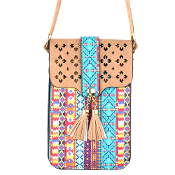 AZTEC CELLPHONE CROSSBODY BAG #MB0023TP $5.00