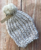 POPCORN CABLE KNIT WINTER HAT #CMH-2097-BLUSH $5.00