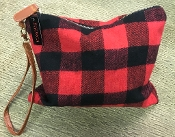 BUFFALO PLAID MAKE UP BAG #BG326X299 $5.50
