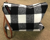 BUFFALO PLAID MAKE UP BAG #BG326X298 $5.50