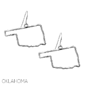 OKLAHOMA CUT OUT EARRINGS #25078-S