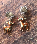 RUDOLPH EARRINGS #OE0682ASMUL