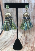 TASSEL POST EARRINGS #AE1896-GGNM $4.75