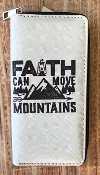 FAITH CAN MOVE MOUNTAINS ZIPPER WALLET #WT326X290