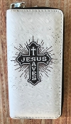 JESUS SAVES ZIPPER WALLET #WT326X292