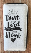 TRUST IN THE LORD ZIPPER WALLET #WT326X291