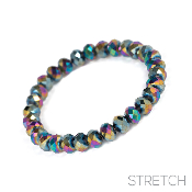 CRYSTAL STRETCH BRACELET #83317VM
