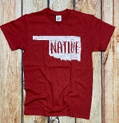 NATIVE OKLAHOMA RED TSHIRT 8PK $48.00